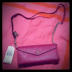 Michael Kors wallet style side purse